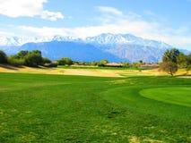 Горные виды Palm Springs Стоковая Фотография RF