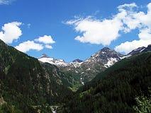 Горные пики, Швейцария Стоковые Фото