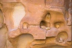 Горные породы в двойном каньоне Стоковые Изображения