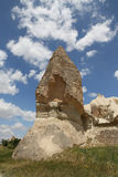 Горные породы в долине шпаг, Cappadocia Стоковые Фото