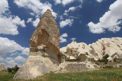Горные породы в долине шпаг, Cappadocia Стоковая Фотография RF