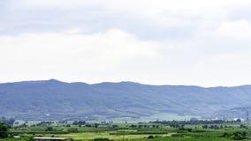 Горные села в южном Китае стоковое фото rf