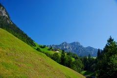 горные склоны Стоковые Изображения