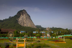 Горные склоны в Chonburi Стоковые Изображения RF