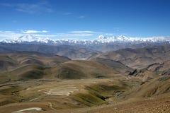 горные цепи Гималаев Стоковое Изображение