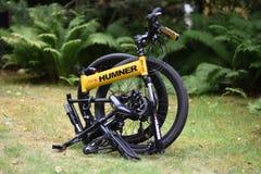 Горный велосипед выживания, складчатость, humner стоковые изображения