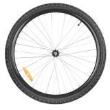 Горный велосипед переднего колеса Стоковое Изображение RF