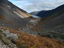 Горный вид в Glendalough стоковые изображения rf