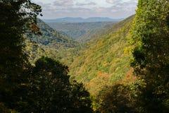 Горный вид Западной Вирджинии Стоковые Изображения RF