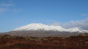 Горный вид Исландии стоковые фотографии rf