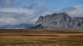 Горный вид Исландии стоковые изображения rf