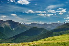 горный вид стоковое изображение