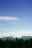 горный вид Стоковые Изображения RF