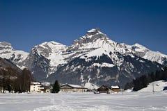 горный вид alps Стоковая Фотография RF