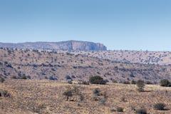 Горный вид - ландшафт Cradock Стоковые Изображения RF
