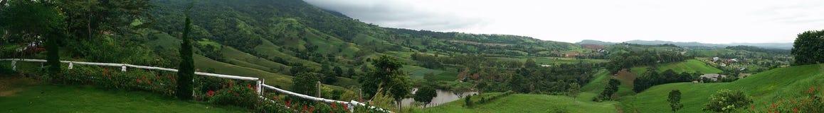 Горный вид на к югу от Таиланде Стоковые Фото