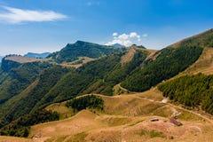 Горный вид доломитов Стоковая Фотография RF