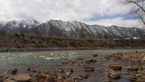 Горный вид с Колорадо Стоковые Изображения