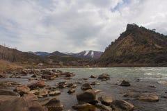 Горный вид с Колорадо Стоковое Фото