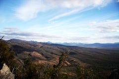 Горный вид Grampians Австралии Стоковые Изображения