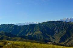 Горный вид, Kadamzhai, Кыргызстан Стоковое Изображение RF