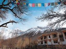 Горный вид Leh Ladakh, Индии Стоковая Фотография