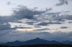Горный пик, Колорадо Стоковая Фотография RF