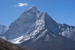 Горный пик Ama Dablam, зона Эвереста, Непал Стоковое Фото