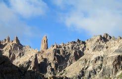 Горный пик Cerro Catedral Стоковое Изображение