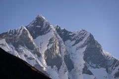 Горный пик Lhotse, 4-ый самый высокий горный пик в мире, Ev Стоковое фото RF