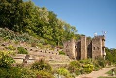 горный склон замока Стоковое фото RF