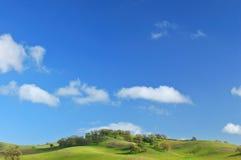 горный склон зелёный Стоковое Фото