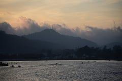 Горный склон Шри-Ланка eliya Nuwararliya стоковые фотографии rf