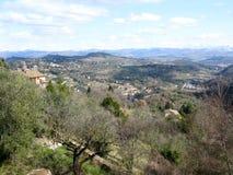 горный склон perugia Стоковое Изображение