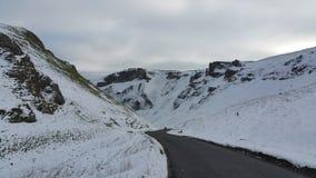 Горный склон Snowy Стоковое Изображение RF