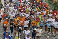 города malaga бегунки 2007 гонки урбанские Стоковое Фото