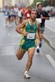 города malaga бегунки 2007 гонки урбанские Стоковое Изображение