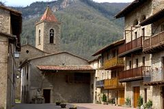 городки Каталонии Стоковое Изображение RF