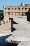 Городок Авиньона, Франция стоковая фотография