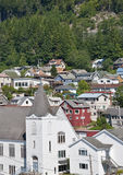 Городок Аляски Стоковые Фотографии RF