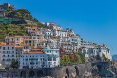 Городок Амальфи стоковое изображение rf