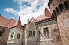 городок архитектурноакустических деталей внешний средневековый стоковые фотографии rf