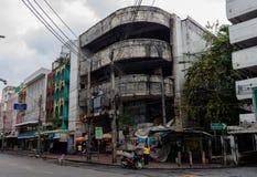 Городок Бангкока городских руин старый стоковое фото rf
