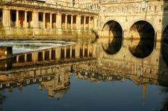 городок ванны исторический Стоковое фото RF