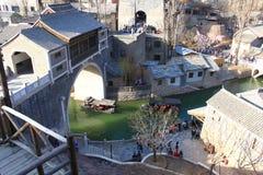 Городок воды Gubei Стоковое Изображение