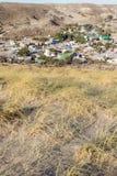 Городок в пустыне полуострова стоковая фотография rf
