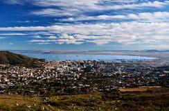 городок города плащи-накидк Стоковое Фото