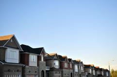 городок дома Стоковая Фотография RF