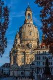 Городок Дрездена старый стоковые изображения