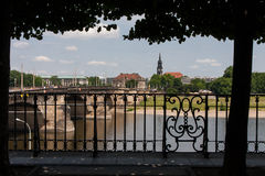 Городок Дрезден старый Стоковые Фото